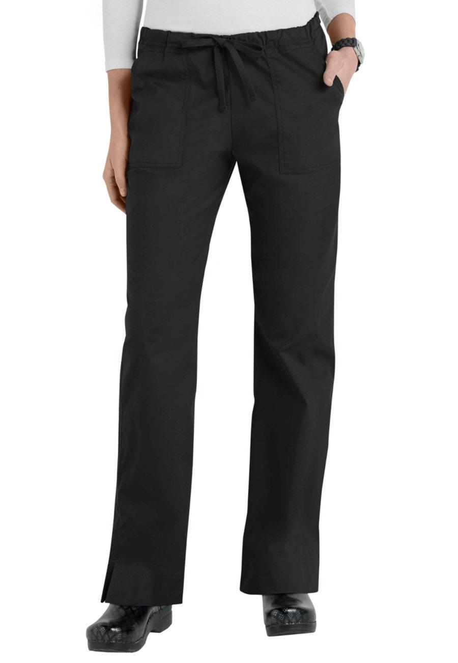 Cherokee Workwear Core Stretch Mid-rise Slim Drawstring Scrub Pants