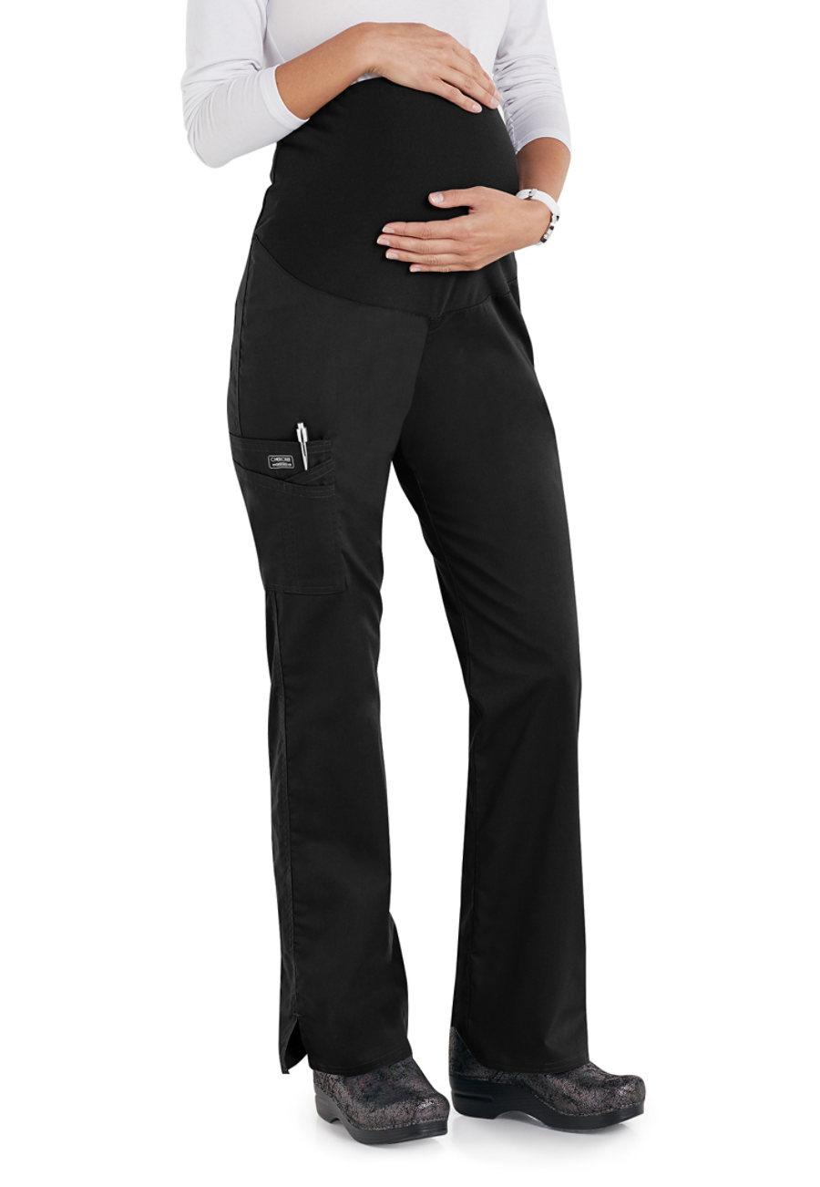 Cherokee Workwear Core Stretch Maternity Knit Waist Pull-on Scrub Pants