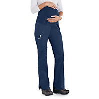 Cherokee Workwear Stretch Maternity Knit Waist Pull On Pants