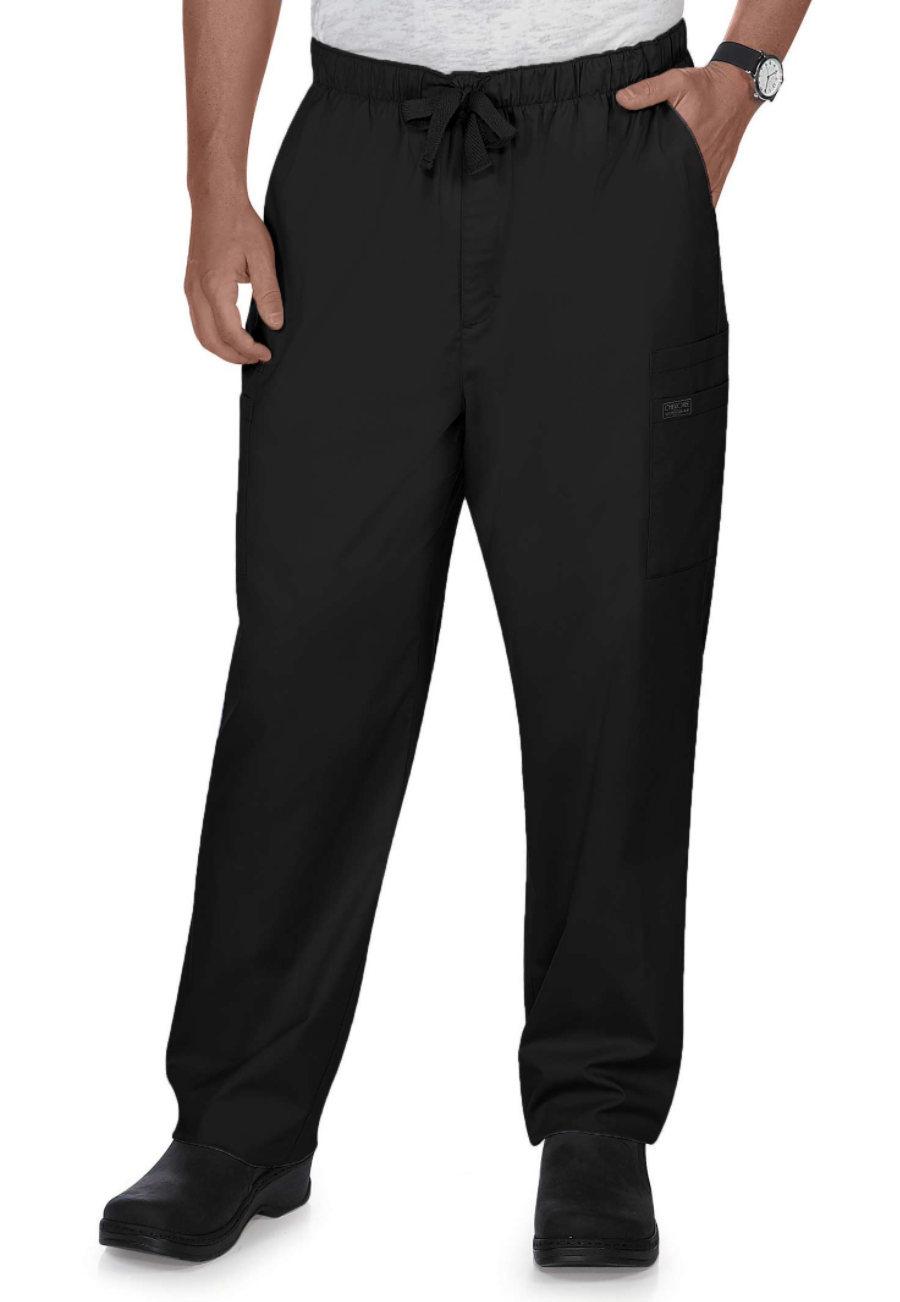 Cherokee Workwear Core Stretch Men's Drawstring Cargo Scrub Pants