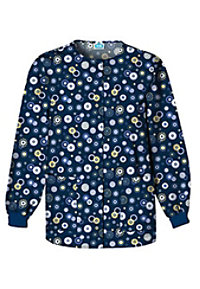 Cherokee Scrub HQ Dots Wonderful Print Scrub Jackets