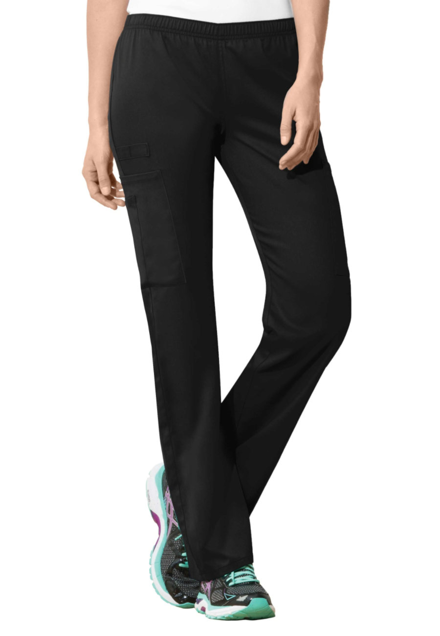 Cherokee Workwear Flex Pull On Scrub Pants With Certainty - Black - 2X
