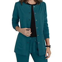 Grey's Anatomy 4 Pocket Snap Front Jackets