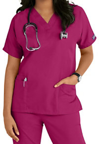 Cherokee Workwear V-neck Scrub Tops