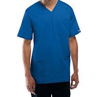 Cherokee Workwear Tall Unisex V-neck Tops