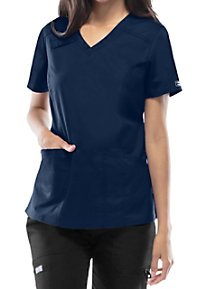 Cherokee Workwear Core Stretch V-neck Scrub Tops