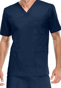 Cherokee Workwear Core Stretch Unisex V-neck Scrub Tops