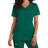Cherokee Workwear Core Stretch Shaped V-neck Tops