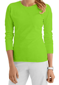 Med Couture Long Sleeve Knit Tees