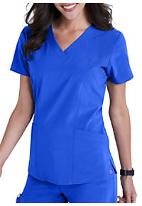 Barco One 4-pocket Fashion Scrub Tops