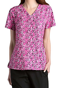 Barco One Synergy 4-pocket Print Scrub Tops