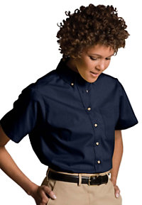 Edwards Garment Short Sleeve Women's Oxford Chef Shirts