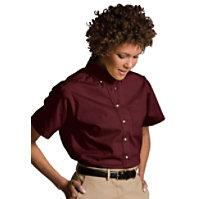 Edwards Garment Short Sleeve Women's Oxford Chef Shirt