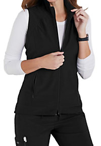 Barco One Zip Front Hi-Lo Scrub Vests
