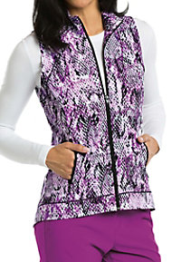 Barco One Cobra Print Scrub Vests