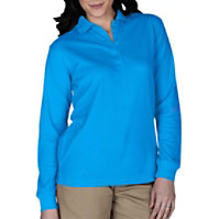 Edwards Garment Ladies Long Sleeve Polo