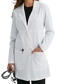 Med Couture ViVi Chic 33 Inch 3 Button Lab Coats