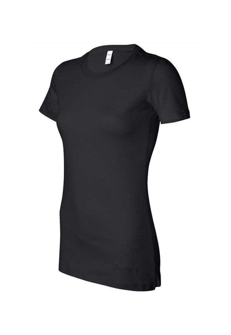 Image of Bella Ladies Short Sleeve Tees - Black - 2X