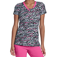 HeartSoul Brush It Off Print Tops