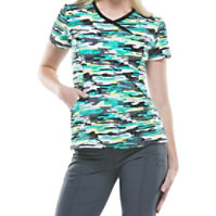 Infinity By Cherokee Camo Kind Of Love Print Tops With Certainty