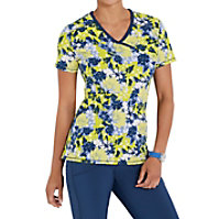 Infinity By Cherokee Just Go Floral It Print Tops With Certainty