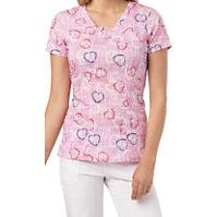 HeartSoul Tie Dye For Print Tops