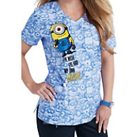 Cherokee Tooniforms My Own Minion Crossover Tops
