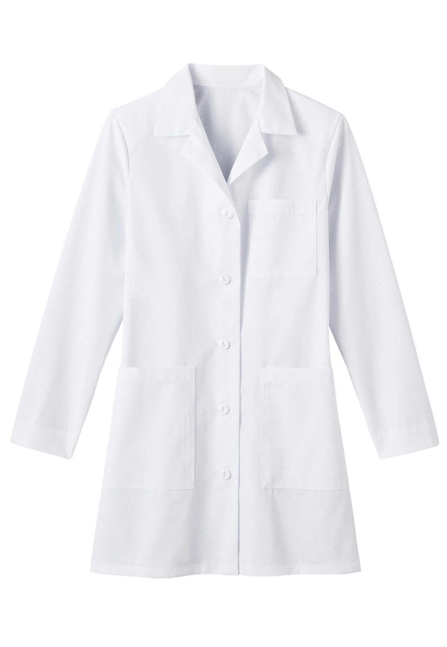 META Ladies 35 Inch 4-pocket Performance Lab Coats