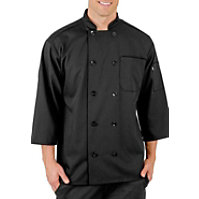 Fame Short Sleeve Button Budget Chef Coat