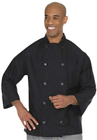 Fame Long Sleeve 10 Button Chef Coat