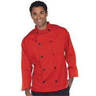 Fame Long Sleeve Button Chef Coat