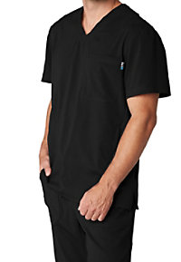 Koi Lite Strength Men's Athletic Fit Scrub Tops