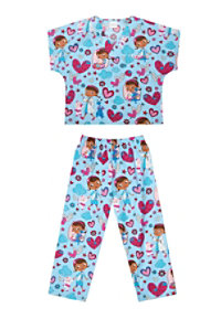 Cherokee Tooniforms Kids Scrub Set