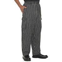 Fame Black Chef Pants