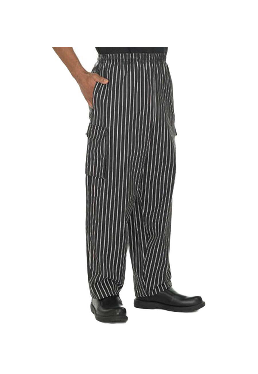 Fame Black Chef Cargo Pants - Black - 7X plus size,  plus size fashion plus size appare