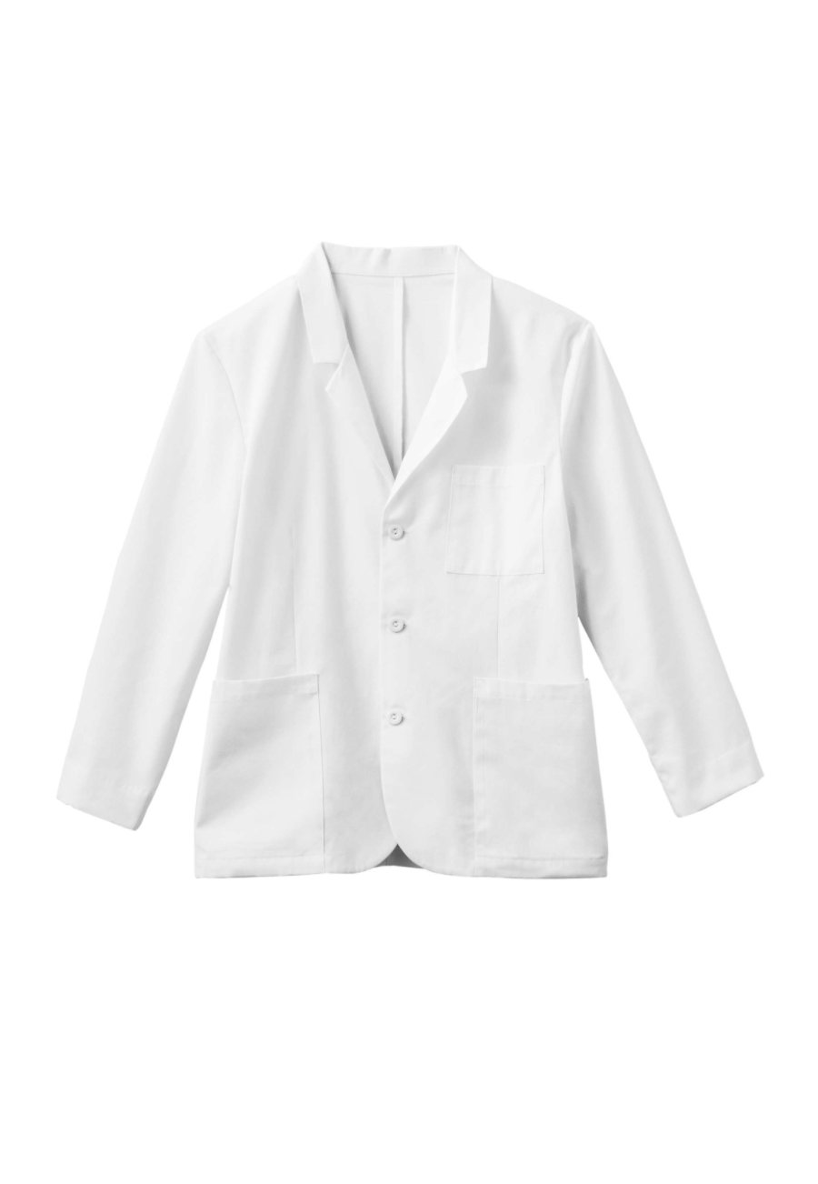 META Men's 30 Inch 7-pocket Consultation Lab Coats