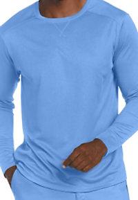 Landau Essentials Men's Long Sleeve Mesh Tees