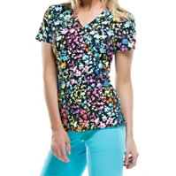 Dickies Xtreme Stretch Posey On Over The Rainbow Tops