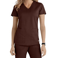 Grey's Anatomy V-neck 2-pocket Tops