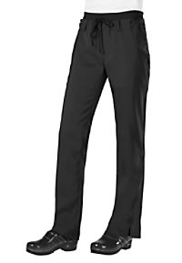 Koi Tech Mia Ribbed Waistband Slim Fit Scrub Pants