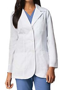 Barco Women's 32 Inch 3 Pocket Princess Seam Lab Coats