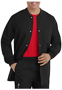 Landau Essentials Men's Warm-up Scrub Jackets