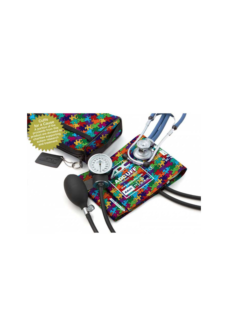 Image of ADC Pro Kits Combo With Blood Pressure Cuff And Stethoscopes - Autism - OS