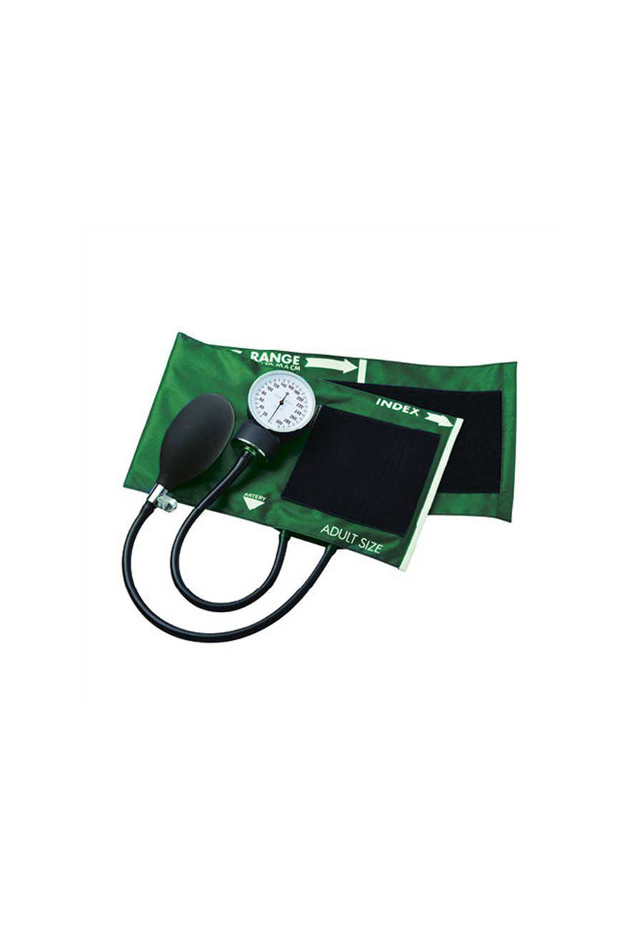 ADC Economical Aneroid Sphygmomanometers With Carrying Case - Green