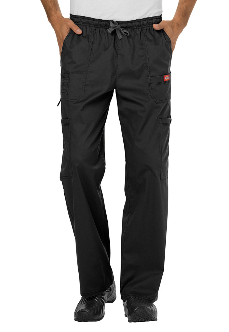 Dickies Gen Flex Men's Youtility Cargo Scrub Pants - Black - 2X plus size,  plus size fashion plus size appare
