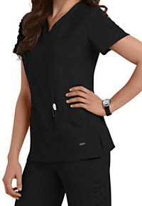 Barco KD110 Lexi Shirred Sleeve Scrub Tops