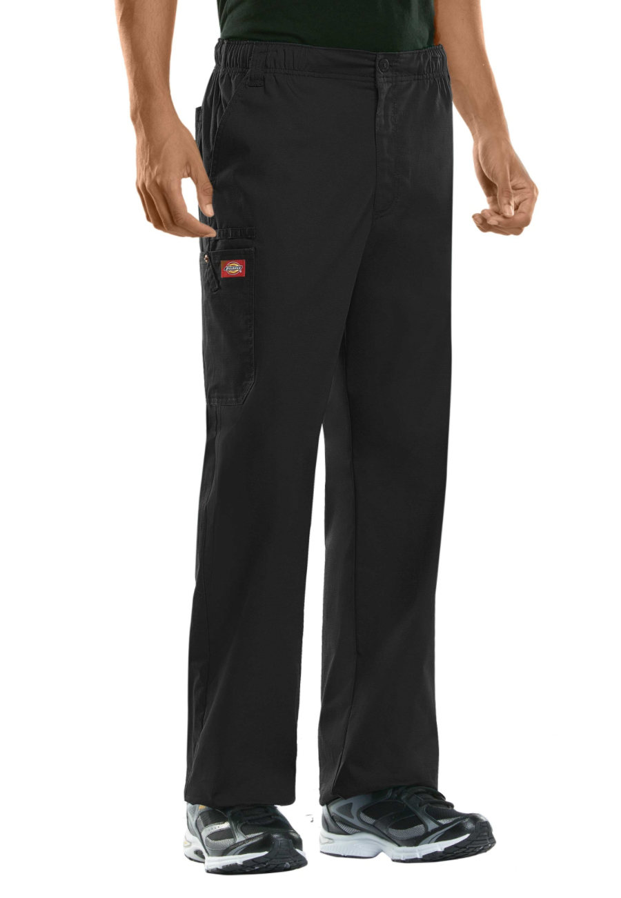 Dickies Evolution NXT Men's Elastic Waist Cargo Scrub Pants