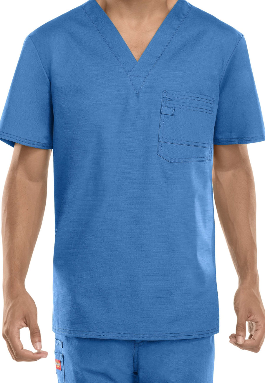 Dickies Evolution NXT Men's V-neck Scrub Tops