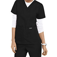 Landau Essentials V-neck Scrub Tops