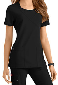 Dickies Xtreme Stretch Mock-wrap Scrub Tops